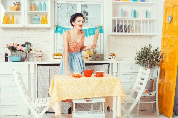 remont kuchni, nowoczesna kuchnia, kuchnia w stylu retro